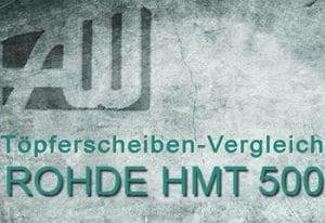 Töpferscheibe Rohde HMT