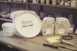 Gießform keramik