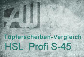 Töpferscheibe-HSL S 45
