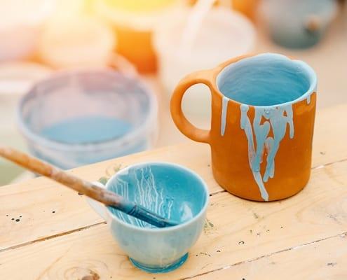 Keramik, Töpfern mit Kindern