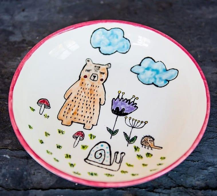 Dekorfarben Keramik
